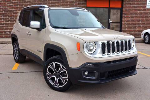 2015 Jeep Renegade for sale at Effect Auto Center in Omaha NE