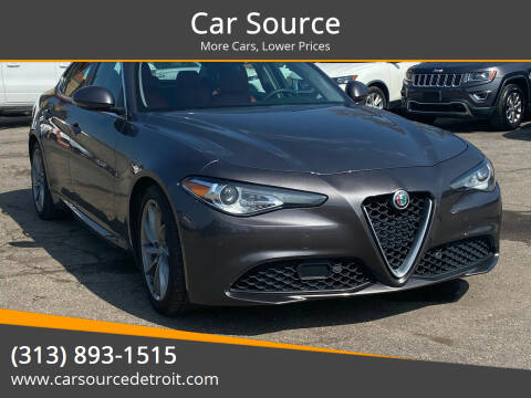 2017 Alfa Romeo Giulia for sale at Car Source in Detroit MI
