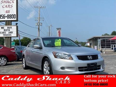 2008 Honda Accord for sale at CADDY SHACK CARS in Edgewater MD