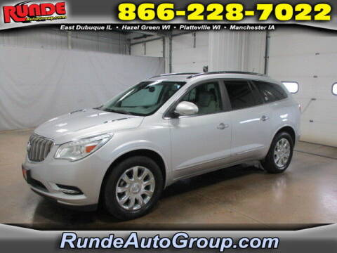 2016 Buick Enclave for sale at Runde Chevrolet in East Dubuque IL