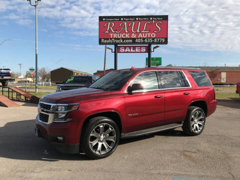 2017 Chevrolet Tahoe for sale at RAUL'S TRUCK & AUTO SALES, INC in Oklahoma City OK