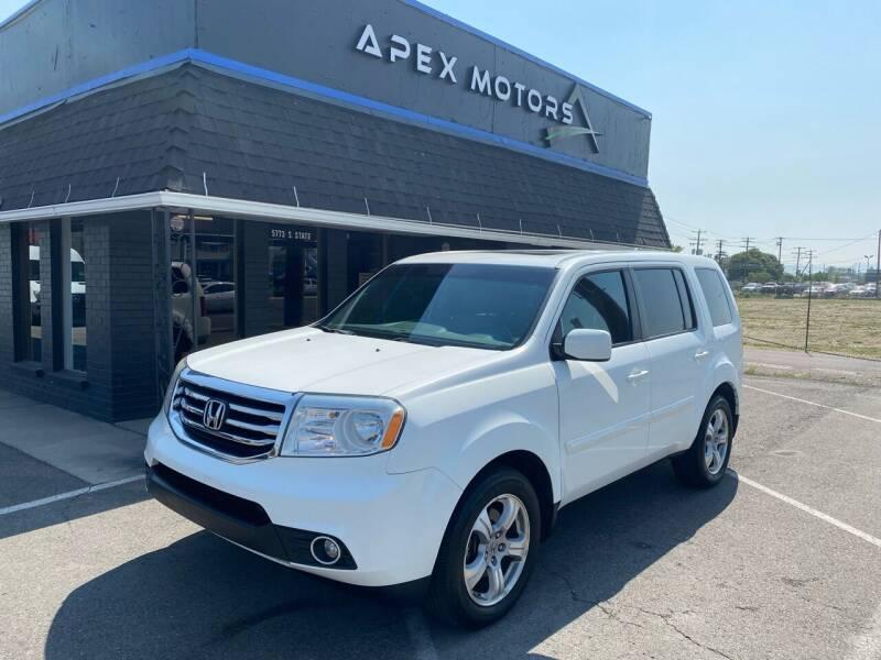 2015 Honda Pilot for sale at Apex Motors in Murray UT