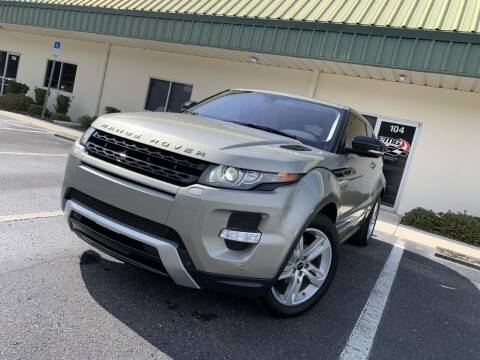 2012 Land Rover Range Rover Evoque Coupe for sale at Fisher Motor Group LLC in Bradenton FL