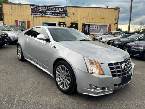 2013 Cadillac CTS for sale at Virginia Auto Mall in Woodford VA