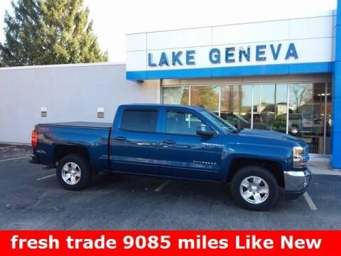 2018 Chevrolet Silverado 1500 for sale at LAKE GENEVA CHEVROLET LLC in Lake Geneva WI
