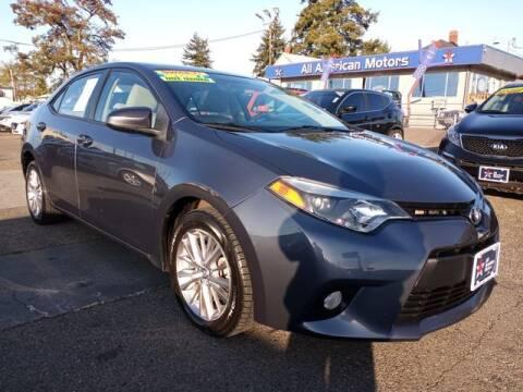 2014 Toyota Corolla for sale at All American Motors in Tacoma WA