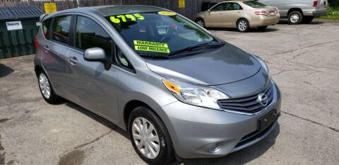2014 Nissan Versa Note for sale at TC Auto Repair and Sales Inc in Abington MA
