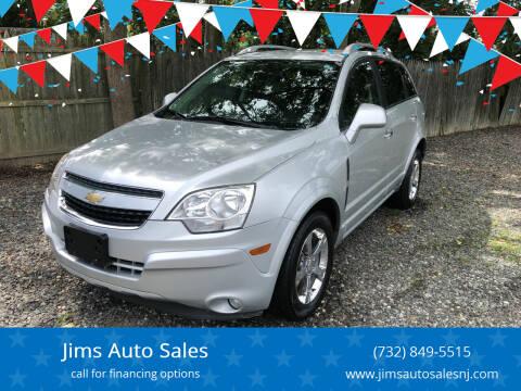 2012 Chevrolet Captiva Sport for sale at Jims Auto Sales in Lakehurst NJ