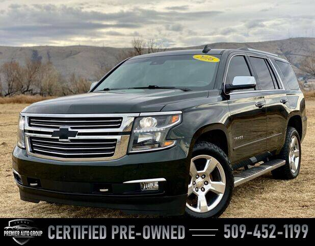 2016 Chevrolet Tahoe for sale at Premier Auto Group in Union Gap WA