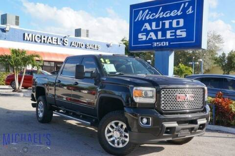 2015 GMC Sierra 2500HD for sale at Michael's Auto Sales Corp in Hollywood FL