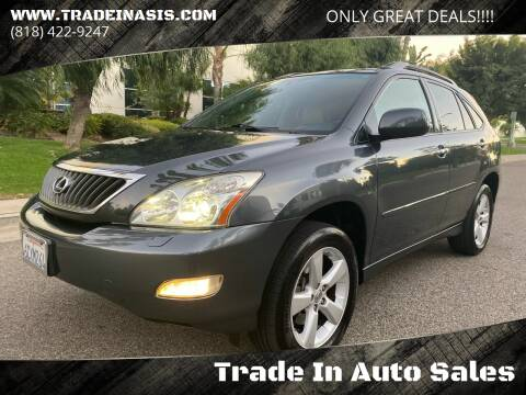 2008 Lexus RX 350 for sale at Trade In Auto Sales in Van Nuys CA