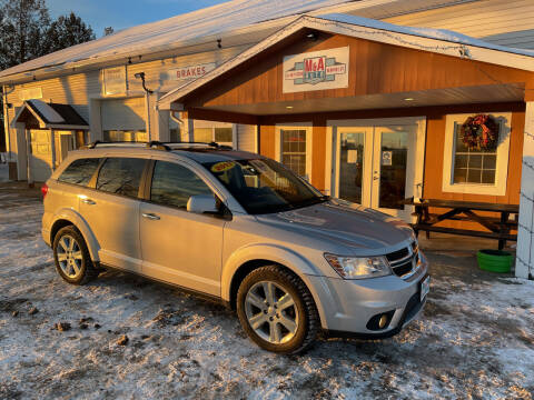 2013 Dodge Journey for sale at M&A Auto in Newport VT