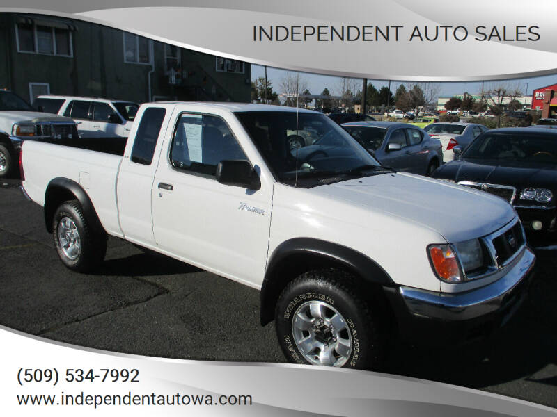 2000 Nissan Frontier for sale at Independent Auto Sales in Spokane Valley WA