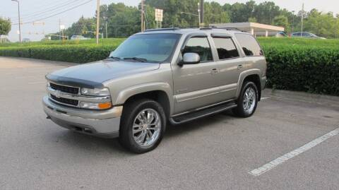 2002 Chevrolet Tahoe for sale at Best Import Auto Sales Inc. in Raleigh NC