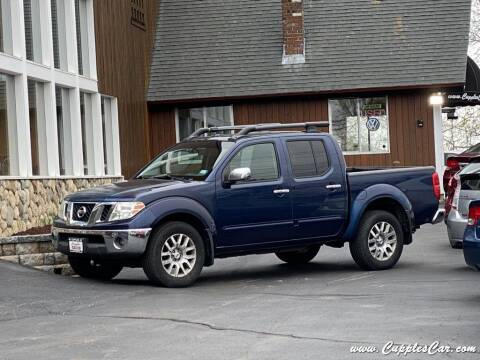 2009 Nissan Frontier for sale at Cupples Car Company in Belmont NH