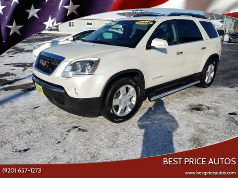 2008 GMC Acadia for sale at Best Price Autos in Two Rivers WI