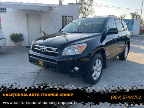 2008 Toyota RAV4 for sale at CALIFORNIA AUTO FINANCE GROUP in Fontana CA