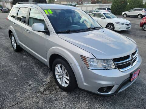 2013 Dodge Journey for sale at Cooley Auto Sales in North Liberty IA