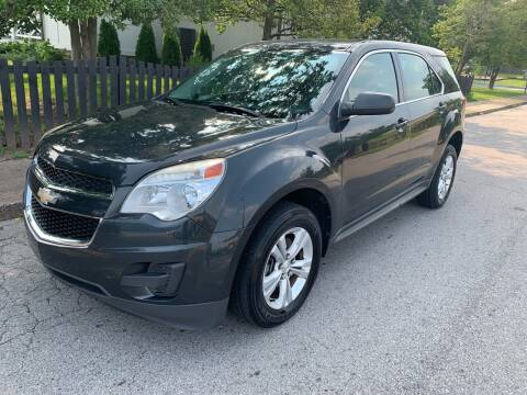 2014 Chevrolet Equinox for sale at Eddie's Auto Sales in Jeffersonville IN