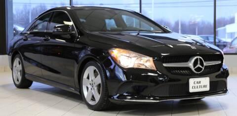 2018 Mercedes-Benz CLA for sale at Car Culture in Warren OH