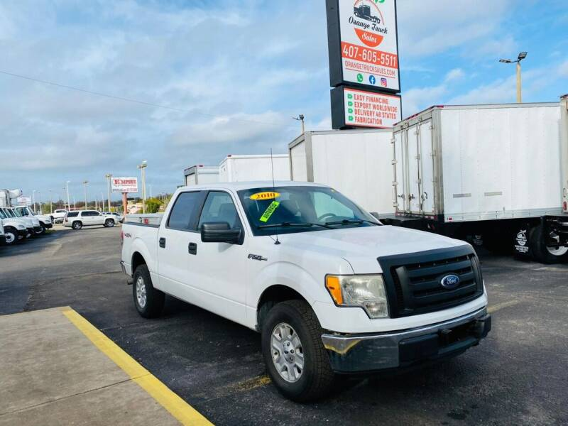 2010 Ford F-150 for sale at Orange Truck Sales in Orlando FL