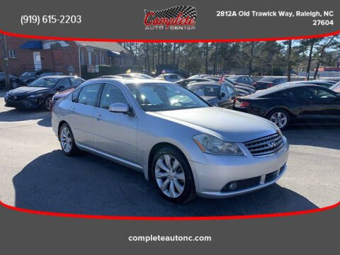 2006 Infiniti M45 for sale at Complete Auto Center , Inc in Raleigh NC