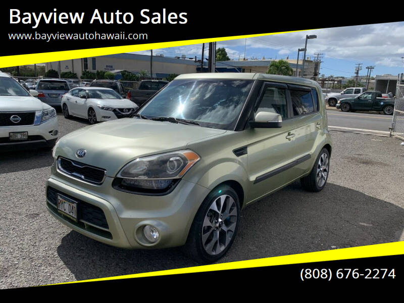 2013 Kia Soul for sale at Bayview Auto Sales in Waipahu HI