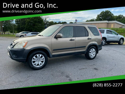 2006 Honda CR-V for sale at Drive and Go, Inc. in Hickory NC