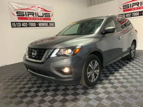 2018 Nissan Pathfinder for sale at SIRIUS MOTORS INC in Monroe OH