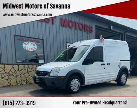 2012 Ford Transit Connect for sale at Midwest Motors of Savanna in Savanna IL