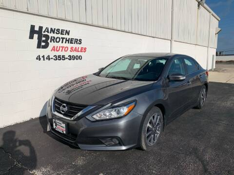 2017 Nissan Altima for sale at HANSEN BROTHERS AUTO SALES in Milwaukee WI