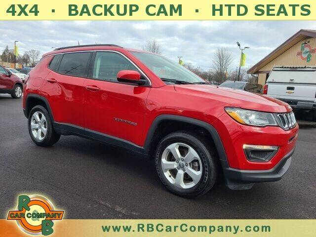 2018 Jeep Compass for sale at R & B Car Company in South Bend IN