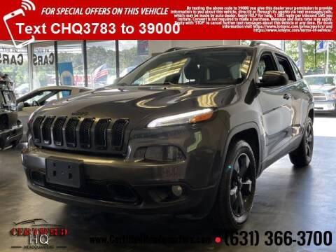 2016 Jeep Cherokee for sale at CERTIFIED HEADQUARTERS in Saint James NY