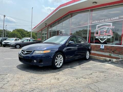 2007 Acura TSX for sale at USA Motor Sport inc in Marlborough MA