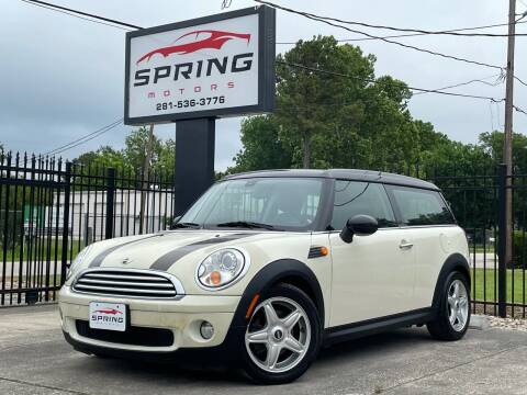 2008 MINI Cooper Clubman for sale at Spring Motors in Spring TX