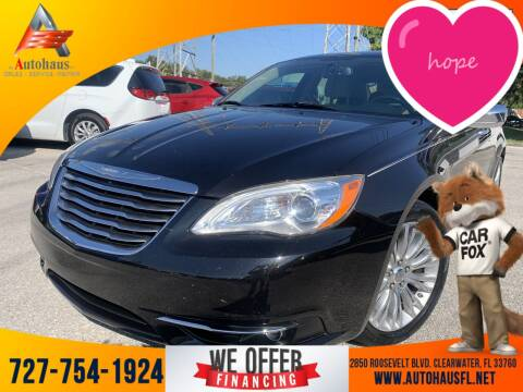 2011 Chrysler 200 for sale at Das Autohaus Quality Used Cars in Clearwater FL