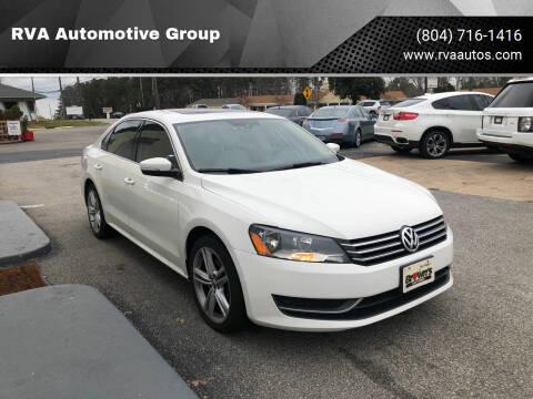 2014 Volkswagen Passat for sale at RVA Automotive Group in North Chesterfield VA