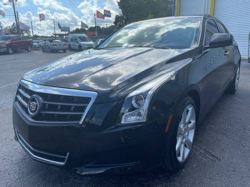 2014 Cadillac ATS for sale at RoMicco Cars and Trucks in Tampa FL