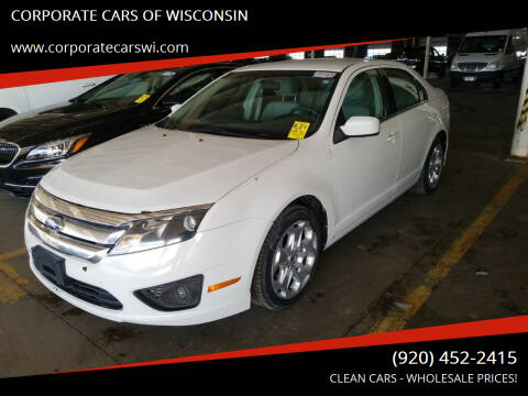 2011 Ford Fusion for sale at CORPORATE CARS OF WISCONSIN in Sheboygan WI