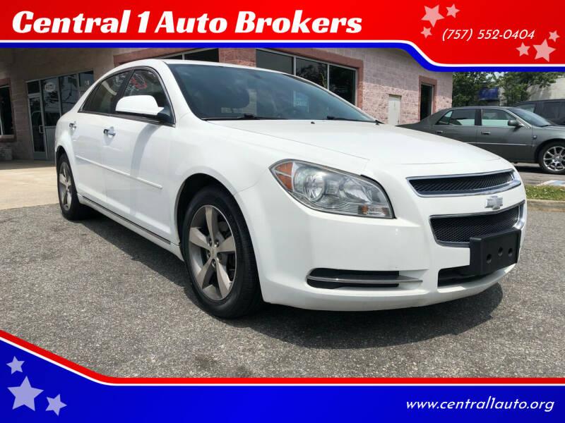 2012 Chevrolet Malibu for sale at Central 1 Auto Brokers in Virginia Beach VA
