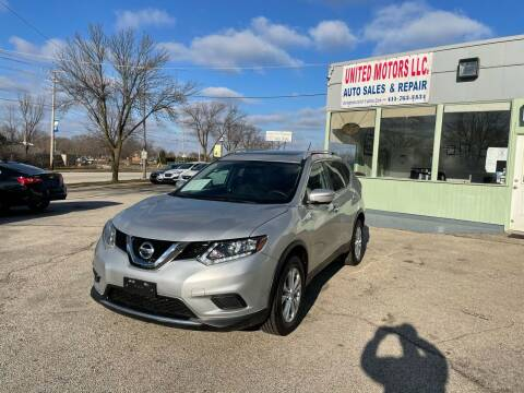 2015 Nissan Rogue for sale at United Motors LLC in Saint Francis WI