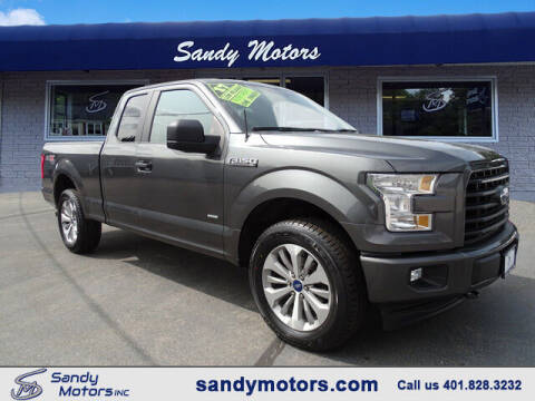 2017 Ford F-150 for sale at Sandy Motors Inc in Coventry RI