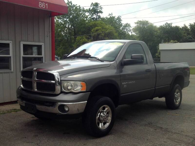 2005 Dodge Ram Pickup 2500 for sale at Midwest Auto & Truck 2 LLC in Mansfield OH