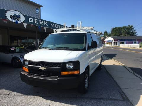 2011 Chevrolet Express Cargo for sale at Berk Motor Co in Whitehall PA