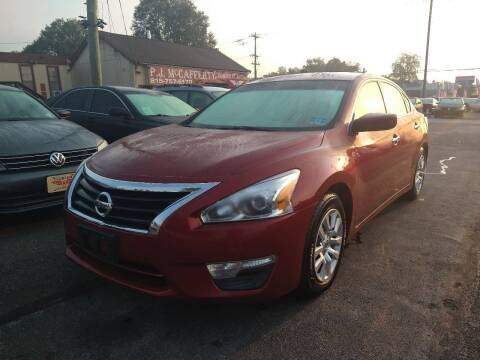 2013 Nissan Altima for sale at P J McCafferty Inc in Langhorne PA
