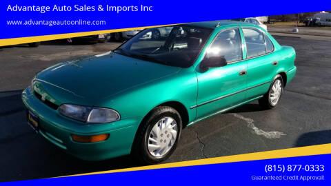 1995 GEO Prizm for sale at Advantage Auto Sales & Imports Inc in Loves Park IL