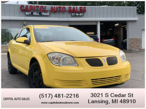 2008 Pontiac G5 for sale at Capitol Auto Sales in Lansing MI