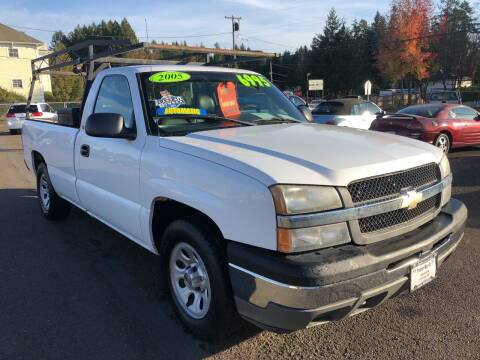 2005 Chevrolet Silverado 1500 for sale at Freeborn Motors in Lafayette, OR