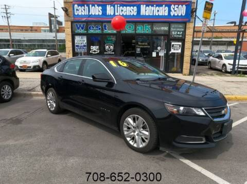 2016 Chevrolet Impala for sale at West Oak in Chicago IL