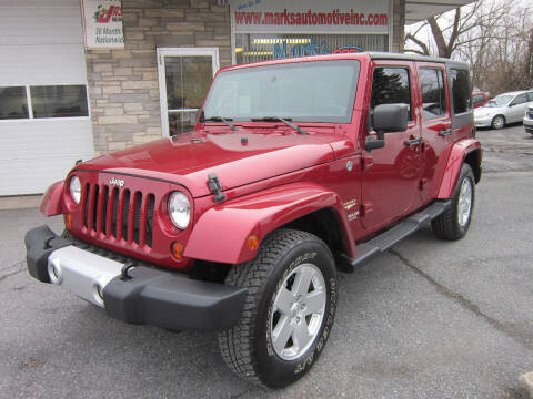 2012 Jeep Wrangler Unlimited for sale at Marks Automotive Inc. in Nazareth PA